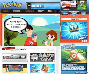 Pokémon, il sito ufficiale.