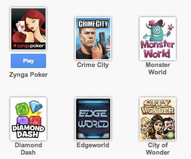 Giochi gratis su google plus