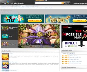 I giochi online gratis di MSN Italia
