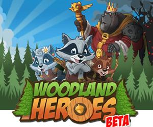 Woodland Heroes, gioco di guerra online.