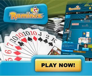 Raminoz, il Ramino e altri giochi di carte online.
