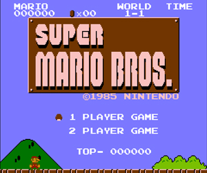 Super Mario Bros online su Facebook