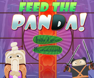 Feed the Panda, puzzle game.