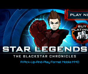 Star Legends, The Blackstar Chronicles