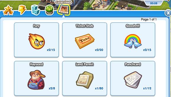 Collectibles SimCity Social