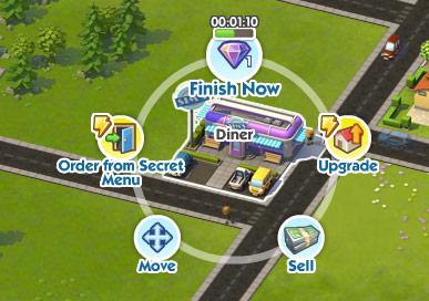 Posizionare edifici in SimCity Social