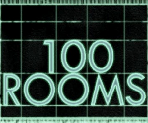 100 rooms.