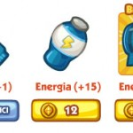Energia in The Sims Social
