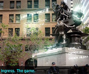 Ingress. The game