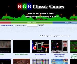 DOS games online.