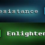 Ingress: illuminati e resistenza.