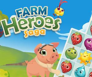 Farm Heroes Saga.