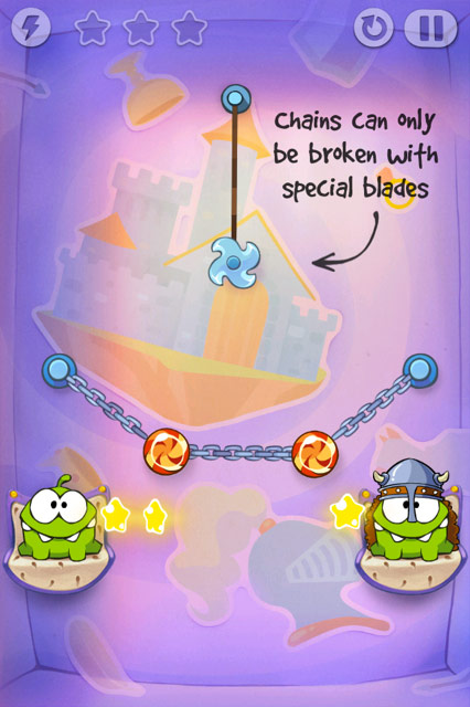 Cut the Rope: Lame e Catene.