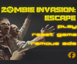 Zombie Invasion Escape.
