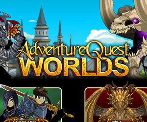 Adventure Quest Worlds.