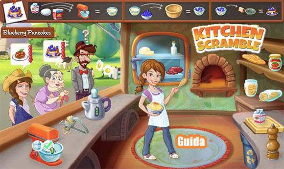 Kitchen Scramble: Guida