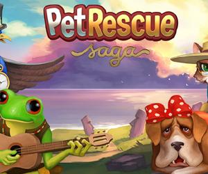Pet Rescue Saga mobile.