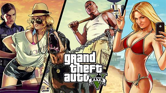 GTA V Online.