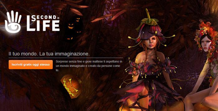 Second Life, vita virtuale online.