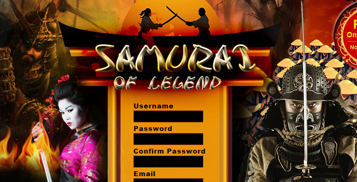 Samurai of legends