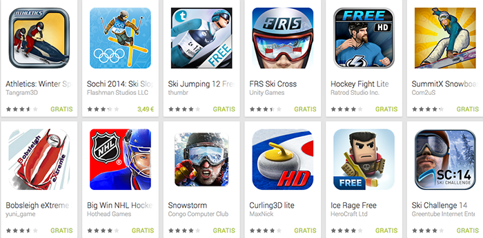 Giochi Olimpici Invernali per Android