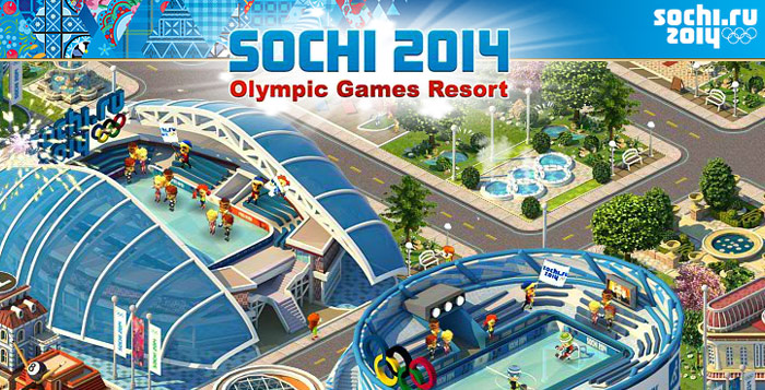 Sochi 2014 Olympic Games Resort.