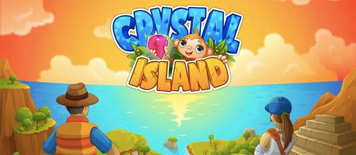 Crystal island.