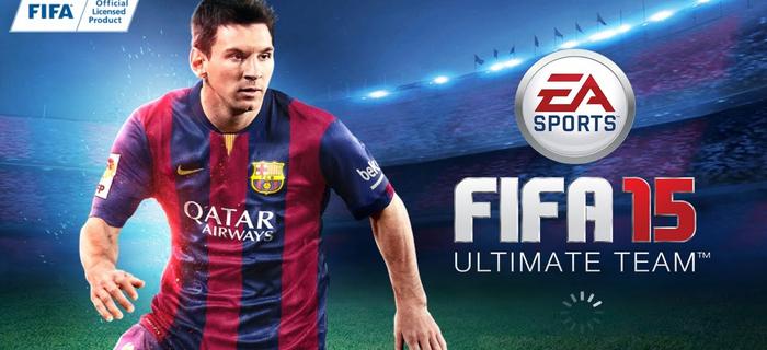 Fifa 2015 mobile.
