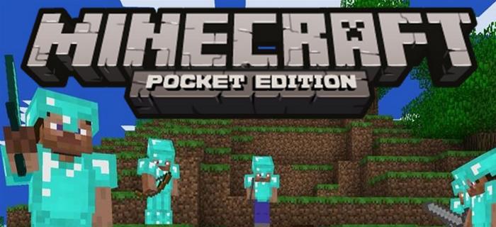 minecraft pocket edition.