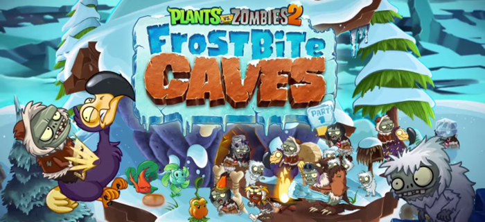Plants vs. Zombies 2: Grotte congelate.